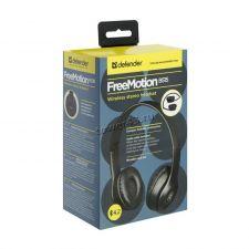 Наушники+микрофон полноразм. Defender FreeMotion B515, беспроводные, блютуз, пров.режим, microSDслот Цена