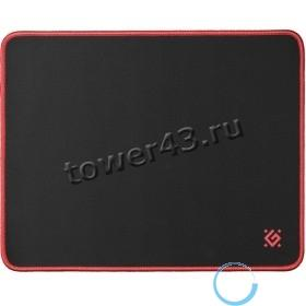 Коврик для мыши Defender Medium Black игровой 360x270x3 мм, ткань+резина