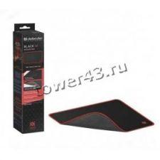 Коврик для мыши Defender Medium Black игровой 360x270x3 мм, ткань+резина Цена