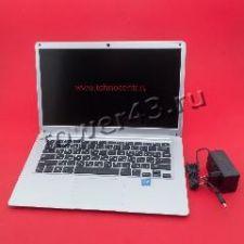 """Ноутбук 14"""" FullHD Azerty AZ-1401 4яд Celeron J3455 /6Gb /SSD120Gb m.2 /HDMI /CR /CAM /WiFi серебро Купить"""