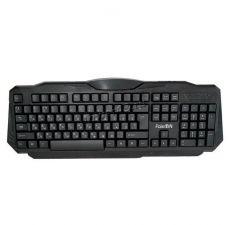 Клавиатура FaisON SILENT GAME, KB339, USB, чёрный Цена