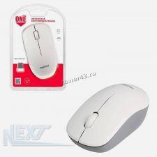 Мышь Smartbuy ONE 370AG беспроводная бело-серебристая Купить