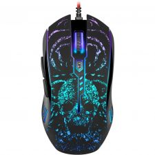 Мышь DEFENDER Invoker GM-947 игровая, RGR подсветка 6кн. (чёрный) 800-3200dpi Купить