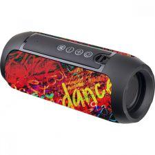 Мобильная колонка-плеер Perfeo STREET DANCE c рисунком, FM-радио, MP3 microSD, AUX, TWS, мощн. 10Вт Цена