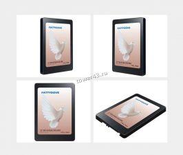 """Твердотельный накопитель 240Gb SSD 2.5"""" FattyDove SATA3 530/450Мб/с 3D TLC Nand Retail Купить"""