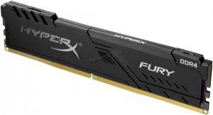 Память DDR4 8Gb (pc4-25600) 8Gb 3200MHz Kingston HyperX Fury Black (HX432C16FB3/8) Rtl Купить