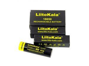 Аккумулятор 18650 LiitoKala LII-31S без защиты 3.7V, 3100mAh (65.5х18.5мм) ток до 35А Retail Купить