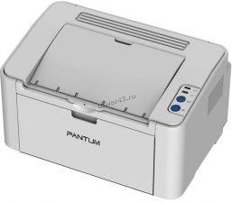 Принтер лазерный Pantum 2200 (A4, USB 2.0) серый Купить