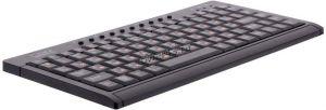 Клавиатура CBR KB175 мини, черная, юсб, металлическое дно Купить