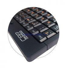 Клавиатура CBR KB175 мини, черная, юсб, металлическое дно Цена
