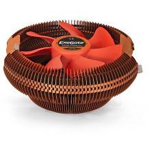 Вентилятор EXEGATE EE90-PWM.Cu (TDP 80W, Al-Cu 90mm, 800-2400rpm, 11-24dBA, 50CFM, 4pin PWM) RTL Купить
