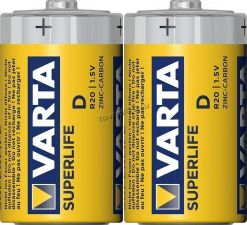 Батарейка R20 солевая VARTA SuperLive /Kodak Купить