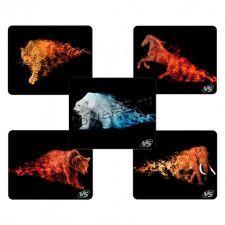 Коврик для мыши VS Flames/Tanks (240х320х3мм) резина + ткань +оверлочная обработка края Купить