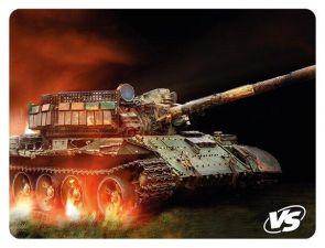Коврик для мыши VS Flames/Tanks (240х320х3мм) резина + ткань +оверлочная обработка края Цена