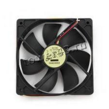 Вентилятор 120x120х25, 3пин + молекс, black, 23dB, 1650rpm, 50CFM Купить