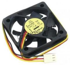 Вентилятор 50x50x10мм 0,13А 12В 25см провод Купить