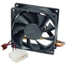 Вентилятор 120x120х25, Molex, black, 19db, 1200rpm Купить