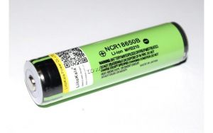 Аккумулятор 18650 LiitoKala NCR18650B с топом без защиты (no PCB) 3.7V, 3000-3500mAh (67х18.5мм) Купить