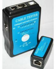 Сетевой тестер M726AT для RJ-45, RG-11 (витая пара, телефонный кабель, usb) c ручным режимом Купить