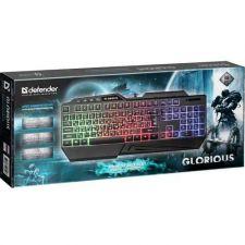 Клавиатура DEFENDER Glorious GK-310L игровая, RGB подсветка,19 Anti-Ghost Купить