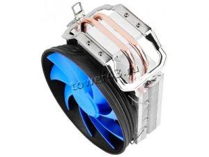 Вентилятор DEEPCOOL GAMMAXX 200T TDP100W, Al-Cu 120mm, 900-1600rpm, 17.8-26.1dBA, 54.25CFM, 4pin PWM Цена