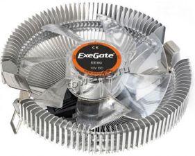 Вентилятор EXEGATE EE90 (TDP 75W, Al 90mm, 2200rpm, 22dBA, 50CFM, 3pin) RTL Купить