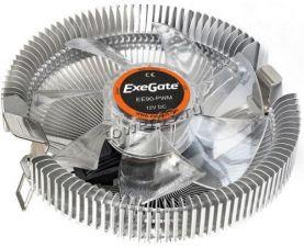 Вентилятор EXEGATE EE90-PWM (TDP 75W, Al 90mm, 800-2400rpm, 11-24dBA, 50CFM, 4pin PWM) RTL Купить