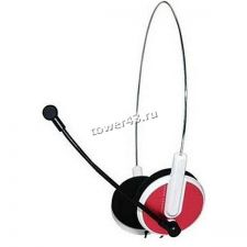 Наушники+Микрофон E-Blue Bridget-S красная Купить