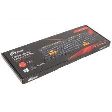 Клавиатура RITMIX RKB-151 USB/мультимедийная (черно-оранжевая) Цены