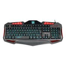 Клавиатура Qumo Axe K03, проводная, 104 + 14 клавиш, встроенные подсветки общая + кнопок 7 цветов Купить