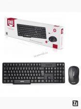 Комплект беспроводной Smartbuy клавиатура+ мышь 236374AG (черный) Купить