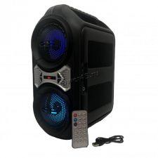 """Комбо-бокс колонка 2х4"""" ZQS-4230/4228 USB /SD /FM /блютуз /подсветка /пульт Цена"""
