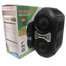 """Комбо-бокс колонка 2х4"""" ZQS-4230/4228 USB /SD /FM /блютуз /подсветка /пульт Цены"""