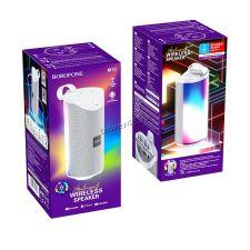 Мобильная колонка-плеер BOROFONE BR5 Adventure 10Вт Bluetooth 5.0 /USB /MicroSD /AUX /RGB подсветка Цены