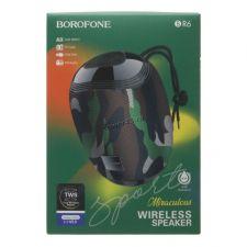 Мобильная колонка-плеер BOROFONE BR6 Mariculous 5Вт Bluetooth 5.0 /USB /MicroSD /AUX /FM Купить