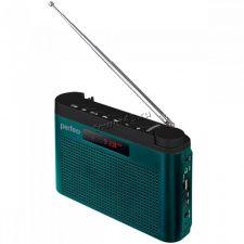 Радиоприемник Perfeo ТАЙГА USB /microSD /УКВ+FM /дисплей /AUX /аккумулятор 18650 /2х40мм 6Вт /сабвуф Купить