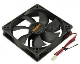 Вентилятор 120x120х25, 2пин, black, 26dB, 1600rpm Купить