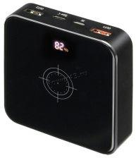 Внешний мобильный аккумулятор BURO HG8000-WCH QC 3.0 с беспроводной зарядкой, 8000мAч, черный Купить