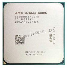 Процессор AMD Athlon 3000G Socket AM4 3,5GHz, Vega3 , L3 4Mb, 2хядерный, 4хпоточный Купить