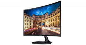 """Монитор 27"""" Samsung C27F390FHI Curved, VA, 4ms, 1920x1080, HDMI, 178/178гр, AUX, изогнутый экран Купить"""
