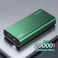 Внешний мобильный аккумулятор TORK I2006P 20000mAh, дисплей, 20Вт, быстрая зарядка PD+QC3, металл Купить