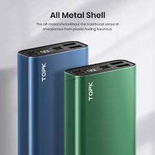 Внешний мобильный аккумулятор TORK I2006P 20000mAh, дисплей, 20Вт, быстрая зарядка PD+QC3, металл Цена