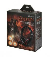 Наушники+микрофон Oklick HS-L380G ABBADON черные, игровые с рег громкости Цены