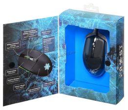 Мышь Oklick 955G FROST 6кн. игровая, 3200dpi, RGB посветка, USB Где купить