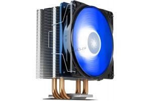 Вентилятор DEEPCOOL GAMMAXX 400 Универсальный (TDP 130W, Al-Cu/120mm, 17.8-30dBA, 4pin, винты) RTL Купить
