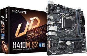 Мат.плата S-1200 Gigabyte H410M S2 PCI-Ex16, 2*DDR4, DSUB, USB3.1 mATX RTL Купить
