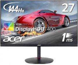 "Монитор 27"" ACER Nitro XV272UPbmiiprzx IPS 2560x1440 (2K) 144Hz HDR 1ms DP 2xHDMI колонки 178гр USB3 Цены"