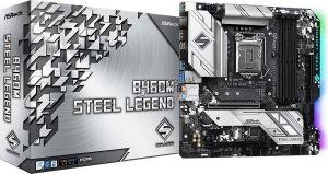 Мат.плата S-1200 Asrock B460M STEEL LEGEND 2xPCI-Ex16 CrossFire, 4*DDR4, DP+HDMI, 6xSATA3, 2xM.2 Rtl Купить