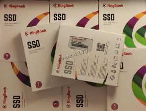 """Твердотельный накопитель 120Gb SSD 2.5"""" Kingbank KP330 120Gb 520/380, 7мм, SATA3 TLC Цена"""