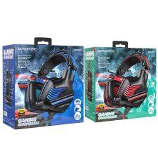 Наушники+Микрофон BOROFONE BO101 Racing игровые подсветка, с регулятором громкости,кабель 2м Цены